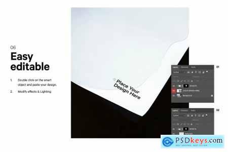 12x Paper Poster Mockup Bundle 5129210