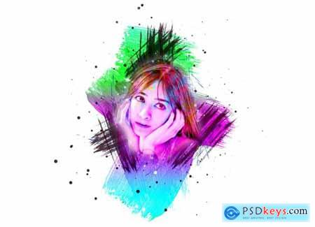 Artistic Painting Photoshop Action 5429287