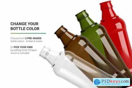 Beer Bottle Mockup 4998891