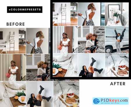 Clean Mobile Lightroom Presets 5001057