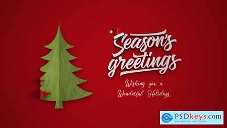 Simple Christmas Intro 22993198