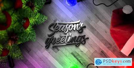 Christmas Lights Logo Reveal 21052241