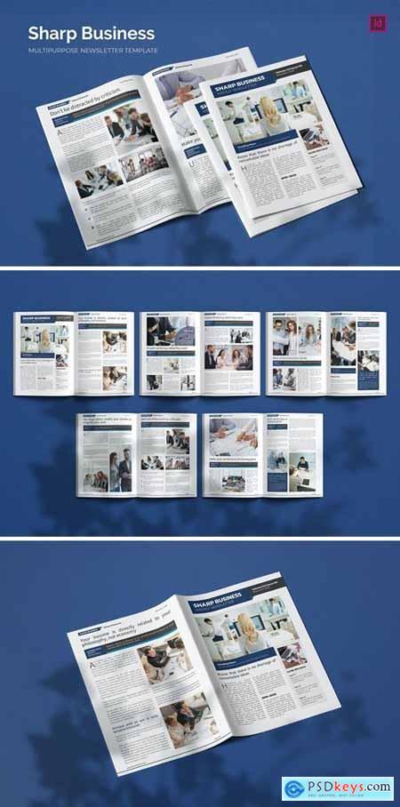 Sharp Business - Newsletter Template