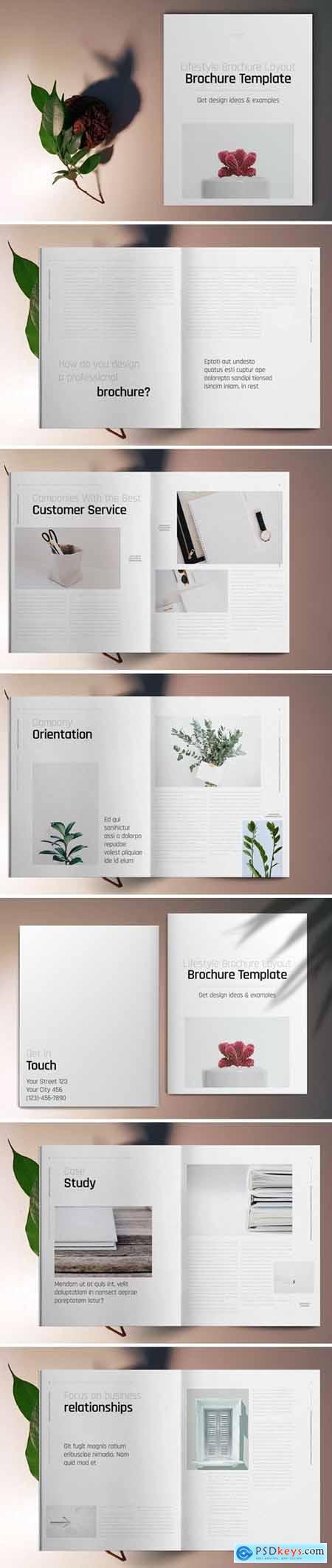 Lifestyle Brochure Template 5667396