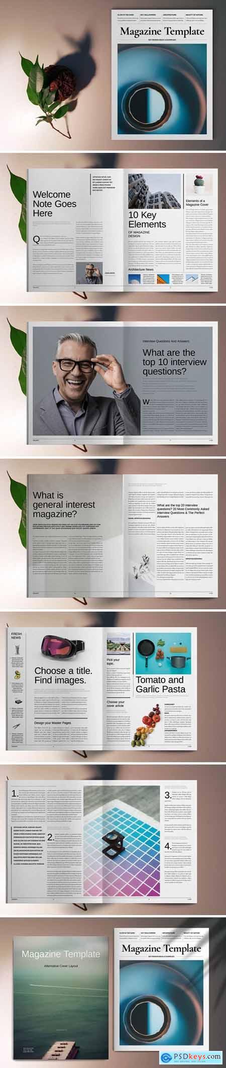 Lifestyle Magazine Template 5667405
