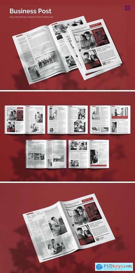 Business Post - Newsletter Template