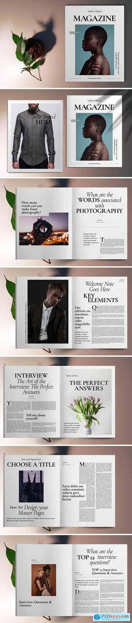 Fashion Magazine Template 5667407