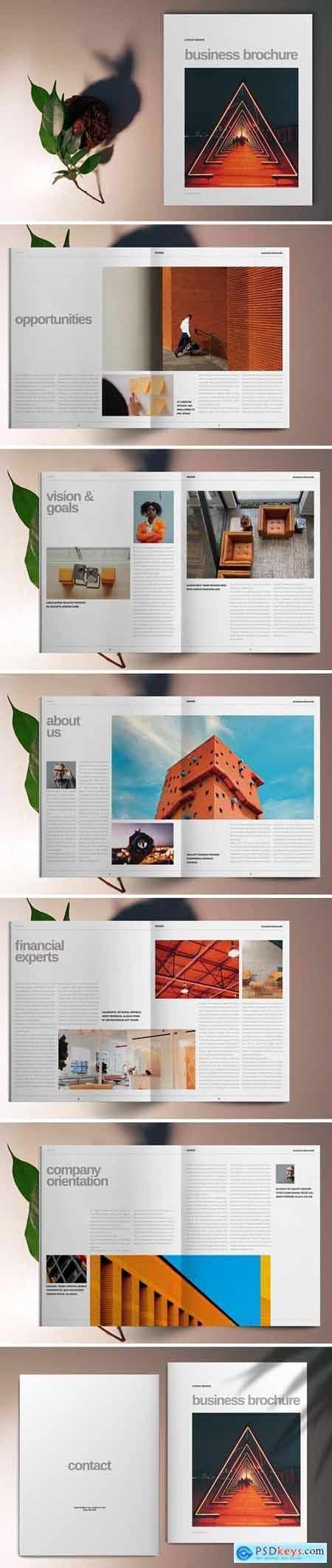 Orange Brochure Template 5667372