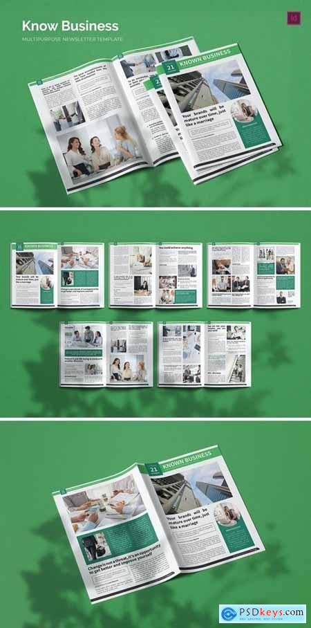 Know Business - Newsletter Template