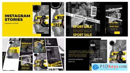 Warning Sale Instagram Stories 29727647