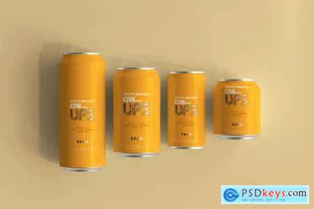50+ Aluminum Can Mockup Collection 5700912