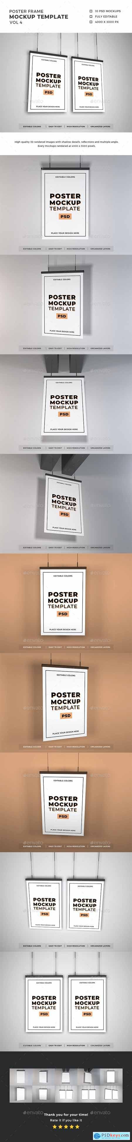 Poster Frame Mockup Template Vol 4 29354920