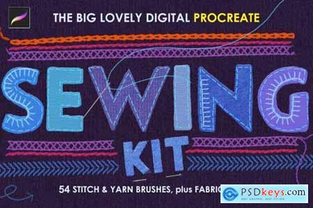 Procreate Sewing Brushes 5684796