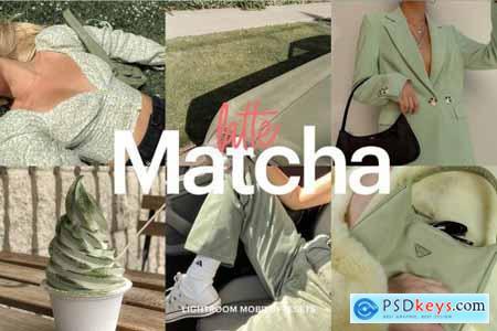 Lightroom Preset-Matcha Latte Theme 4973310