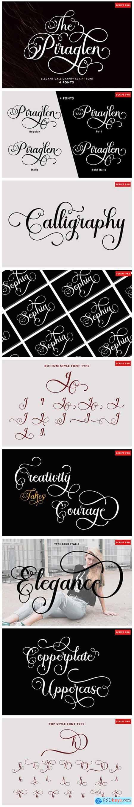 The Piraglen Font