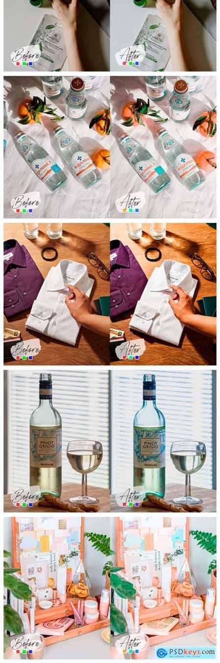 10 Product Mood Photoshop Actions 7099066