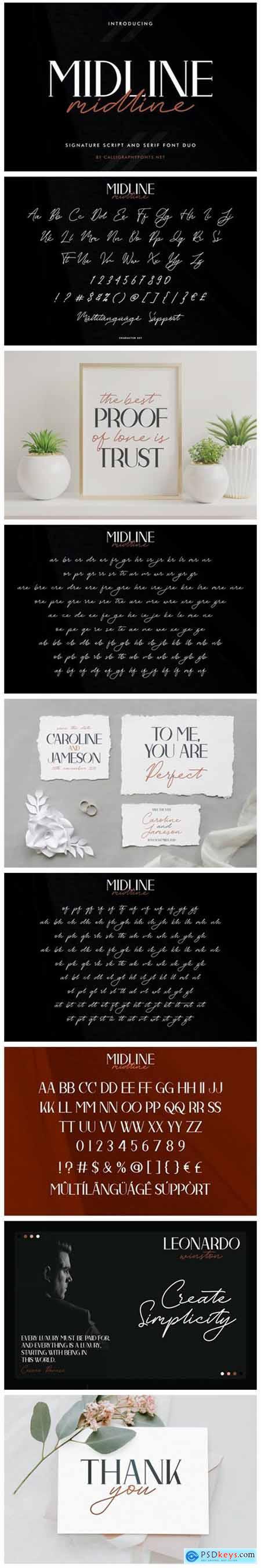 Midline Font