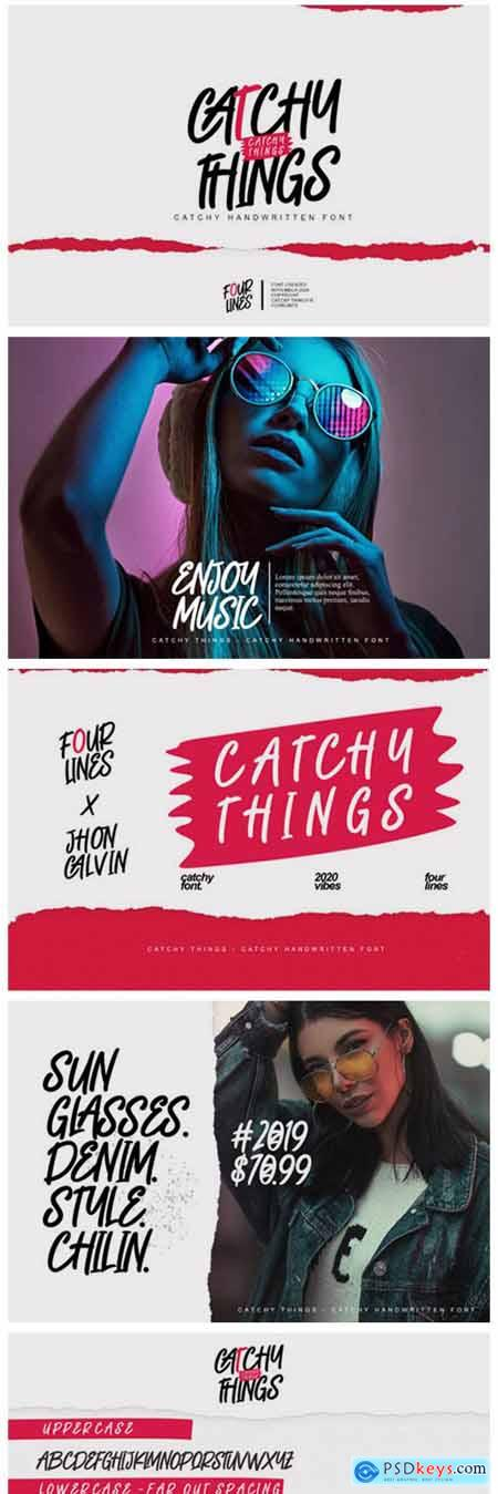Catchy Things Font