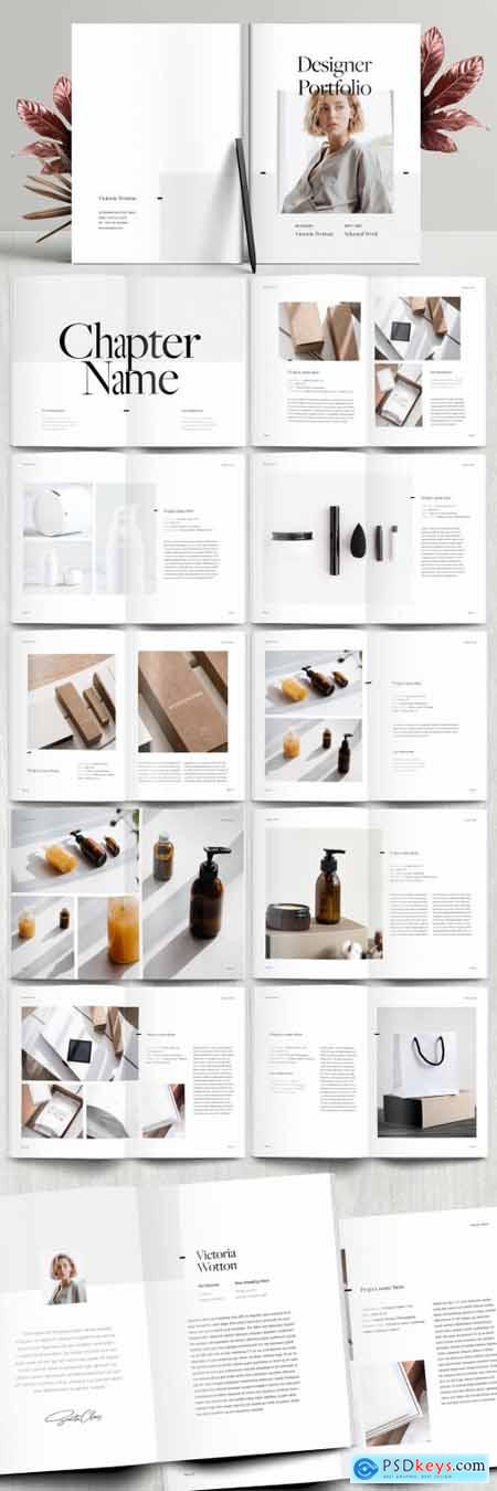 Portfolio Booklet Layout 394749874