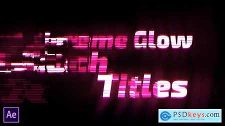 Extreme Glow - Glitch Titles 28494040