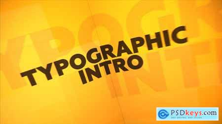 Typographic Intro 23453511