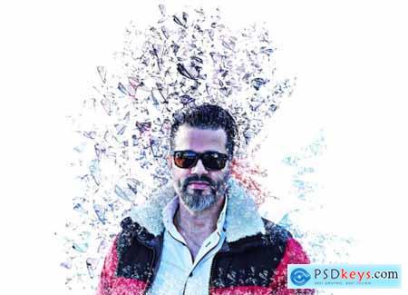 Splatter Effect Photoshop Action 5409262