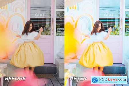 5 Yellow Lightroom Presets 5701598