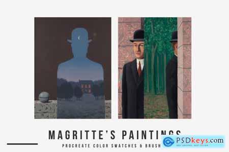 Rene Magritte Procreate Brushes 5675371