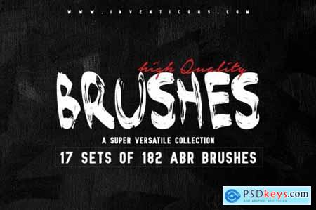 182 Hand Made Brushes 5676111