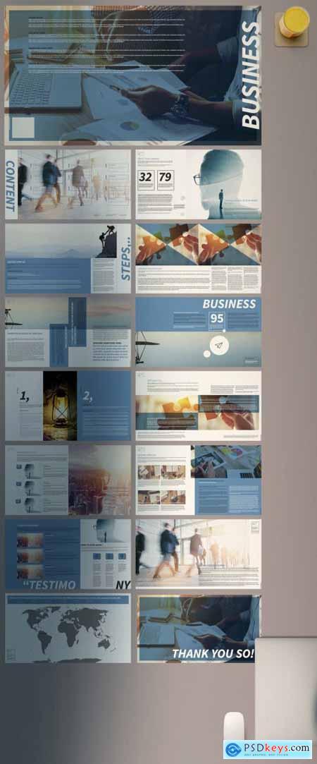 Clean Business Presentation 399853676