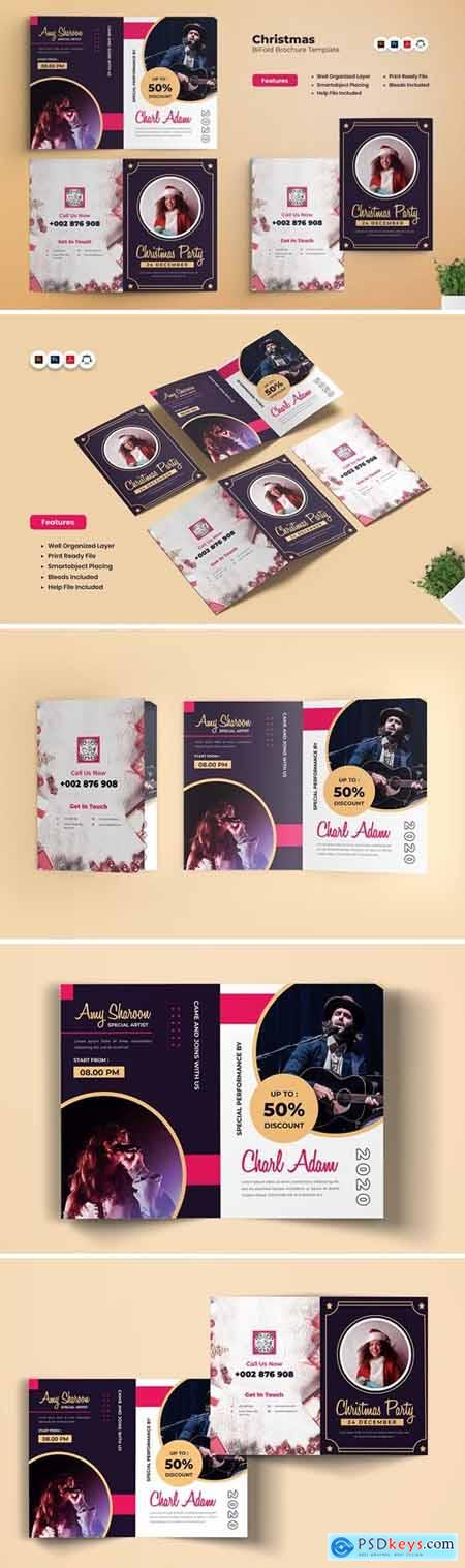 Christmas Party Bifold Brochure