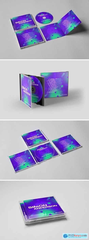 Music CD - Digital Cover Artwork Template425