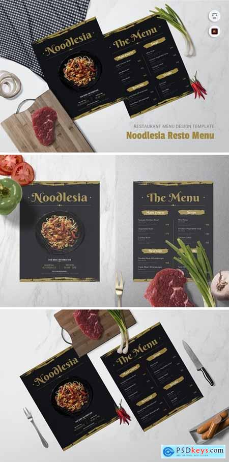 Noodlesia Restaurant Menu
