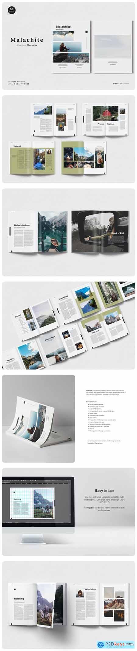 MALACHITE Adventure Magazine