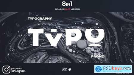 New Typography Promo 28915162