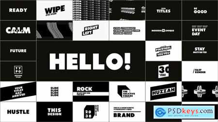 Typography & Titles 28995500