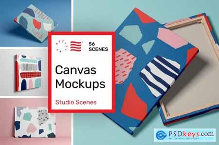 Canvas Mockups - Studio Scenes 5634260