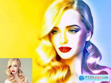 Digital Painting Photoshop Action 5649195