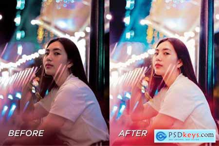 5 Neon Lightroom Presets 5699082