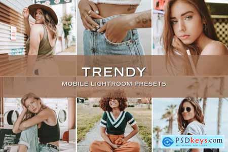 5 Trendy Blogger Lightroom Presets 5701796