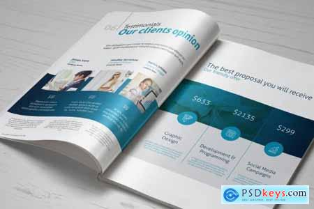 Business Brochure - Company Profile 5451449
