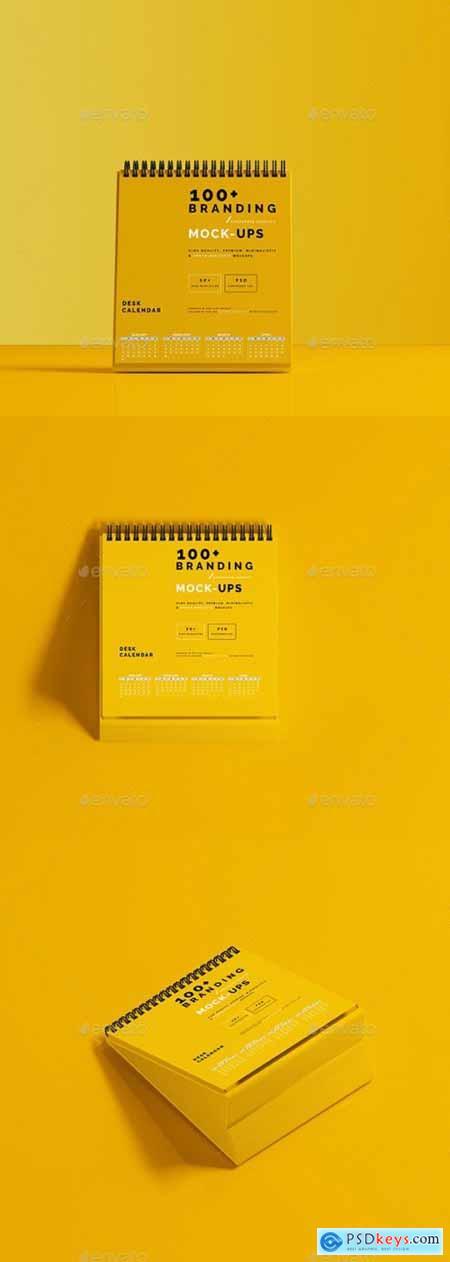 Desk Calendar Mockup 29720544