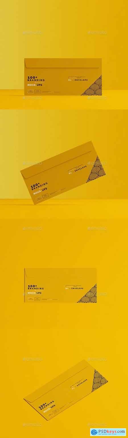 DL Envelope Mockup 29720578