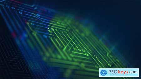 Fast Tech Chip Logo Opener Intro 29787054