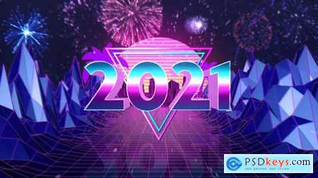 New Year Countdown - Retro Style 29734009