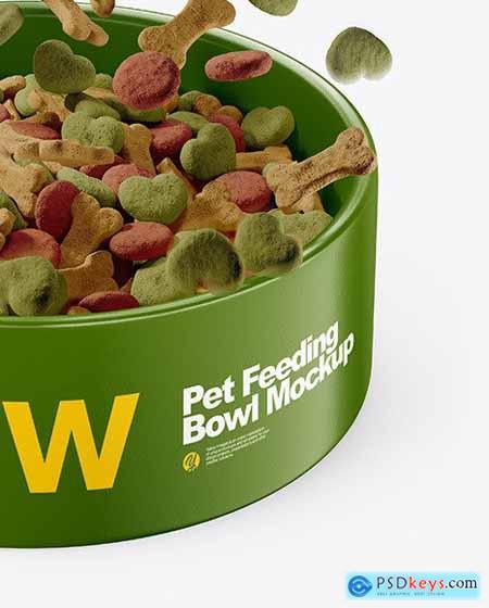 Pet Feeding Bowl Mockup 71152