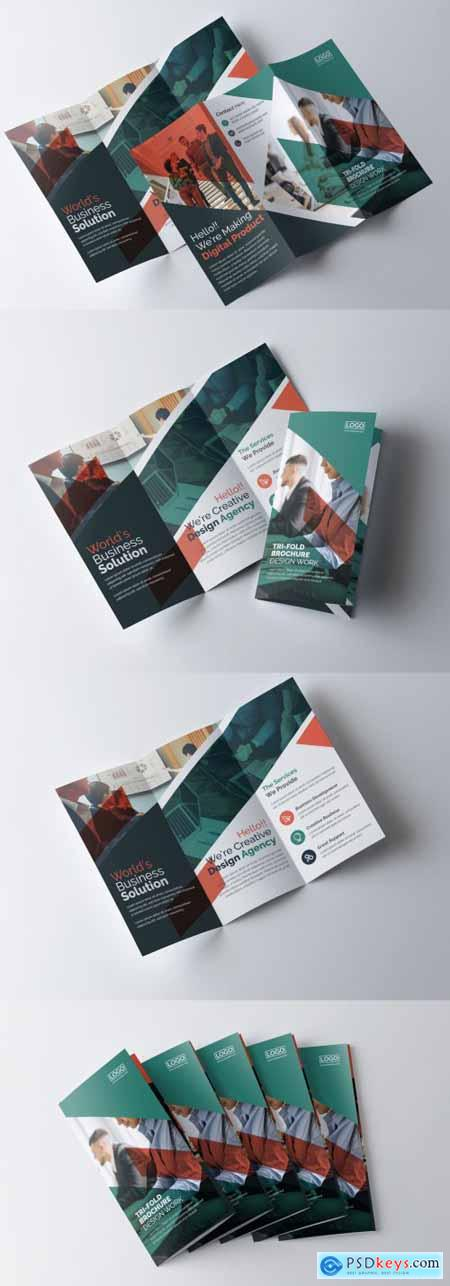 Multipurpose Trifold Brochure Layout 399620054