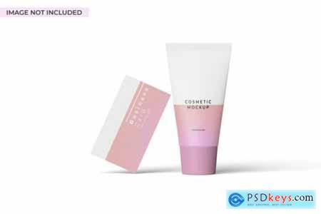 Cosmetic branding mockup