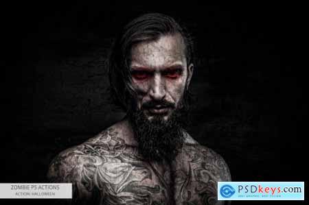 Zombie Photoshop Actions 5542513
