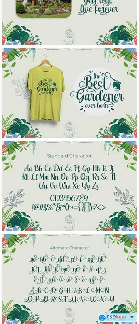 Rashida Garden Font